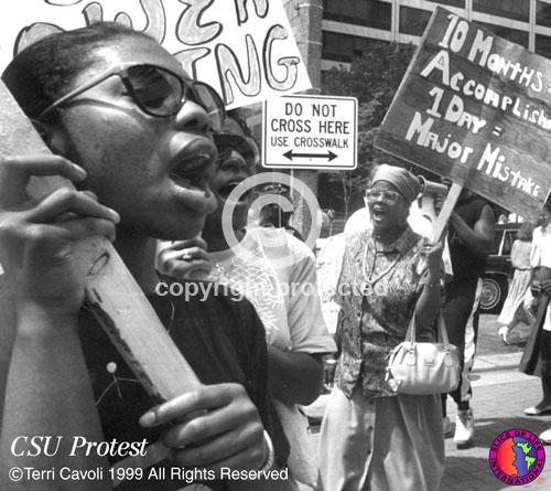 CSU-Protest