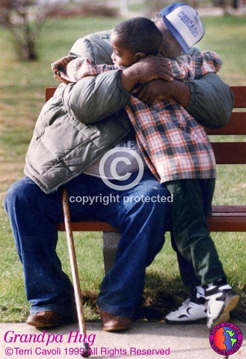Grandpa-Hug